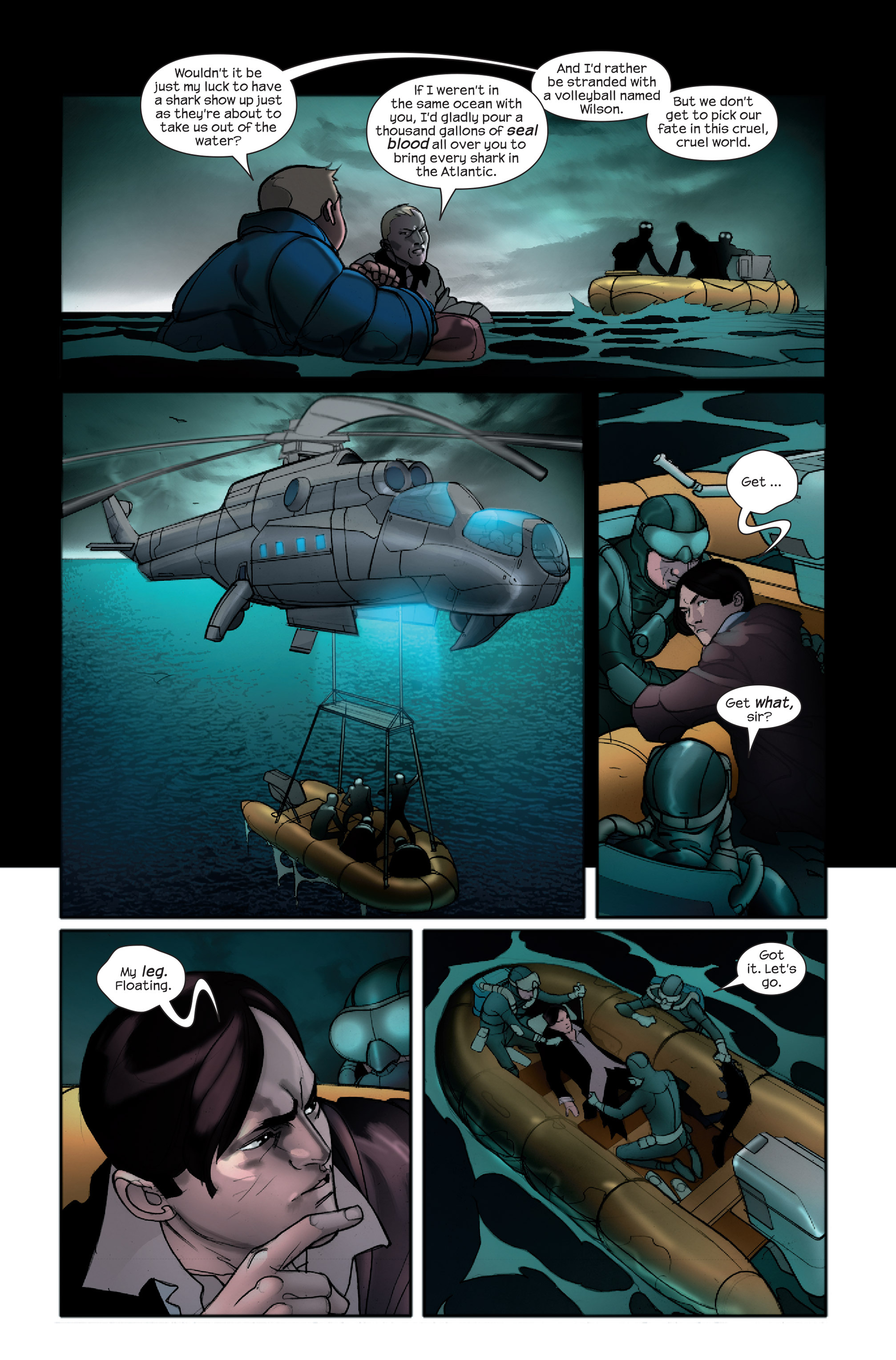 Read online Ultimate Iron Man II comic -  Issue #4 - 21