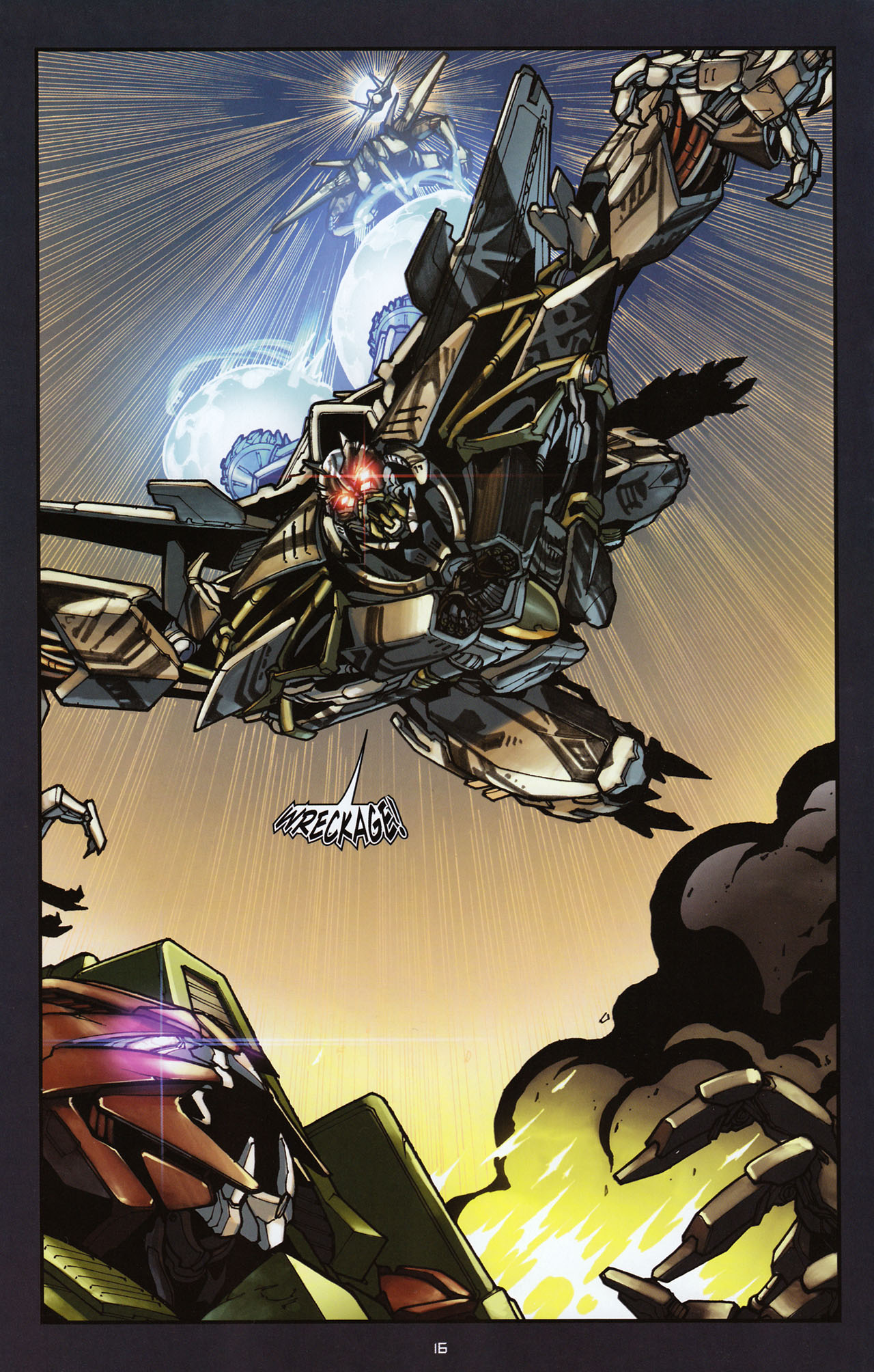 Read online Transformers: Alliance comic -  Issue #2 - 19