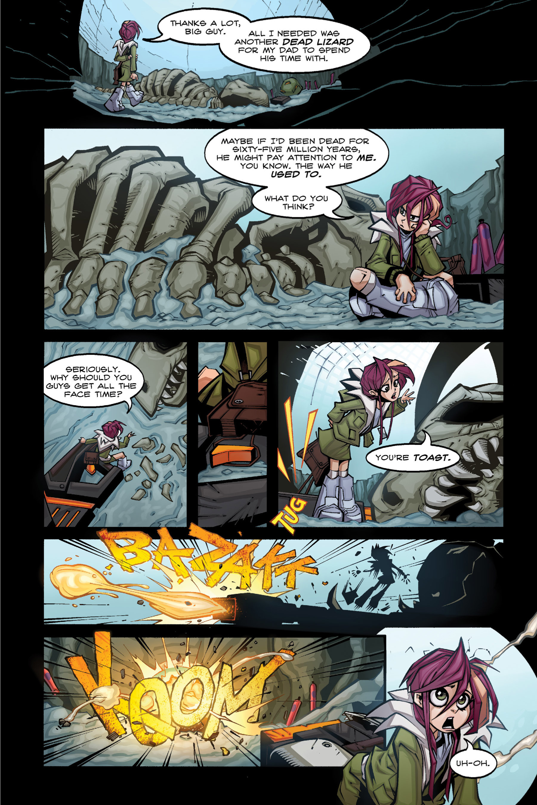 Read online Rexodus comic -  Issue # Full - 21