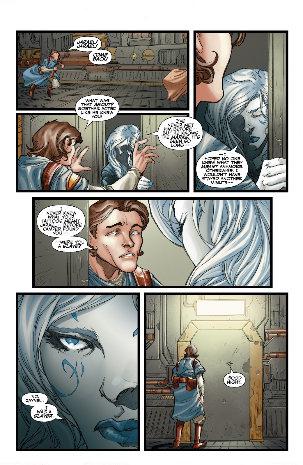 Read online Star Wars Legends: The Old Republic - Epic Collection comic -  Issue # TPB 3 (Part 1) - 95