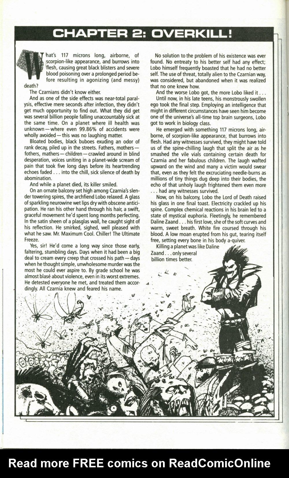 Read online Lobo (1990) comic -  Issue #1 - 12