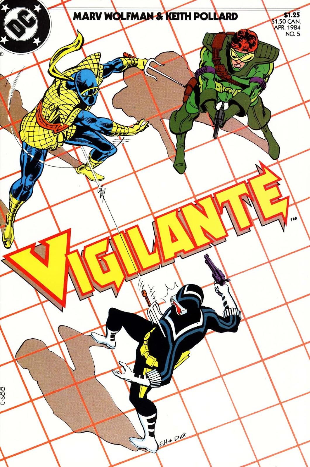Vigilante (1983) issue 5 - Page 1