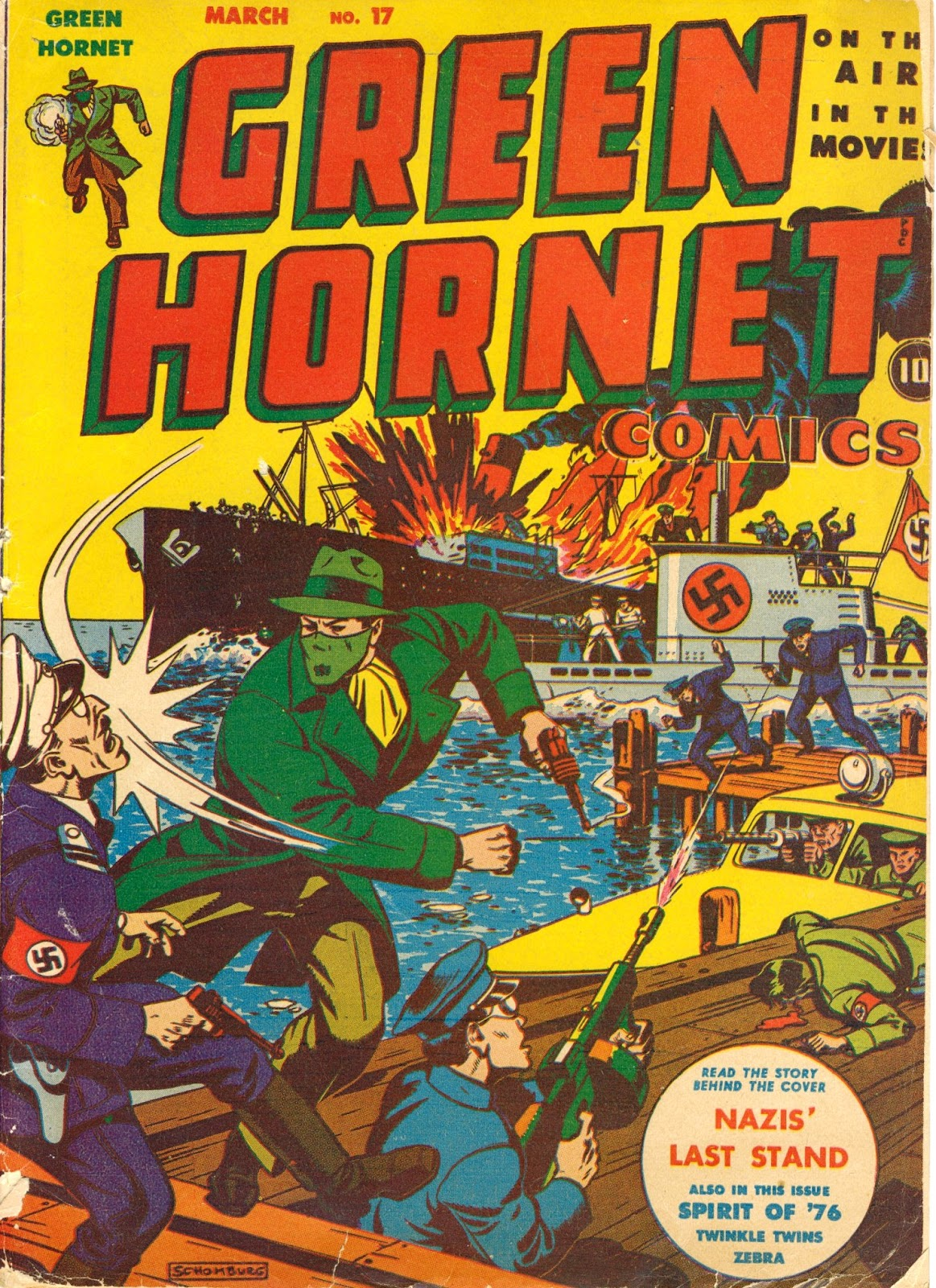 Green Hornet Comics issue 17 - Page 1