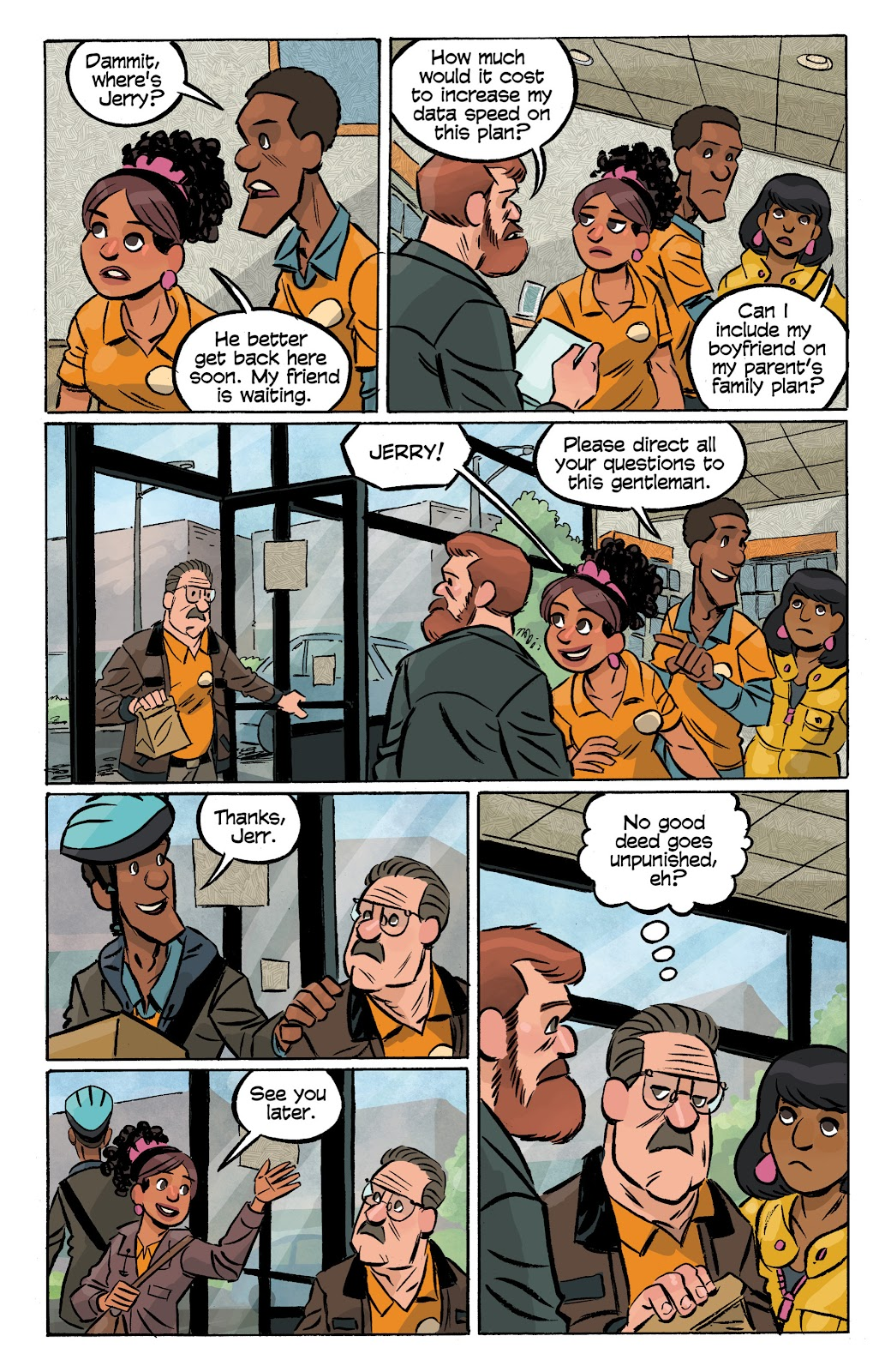 Read online Cellies comic -  Issue #8 - 11