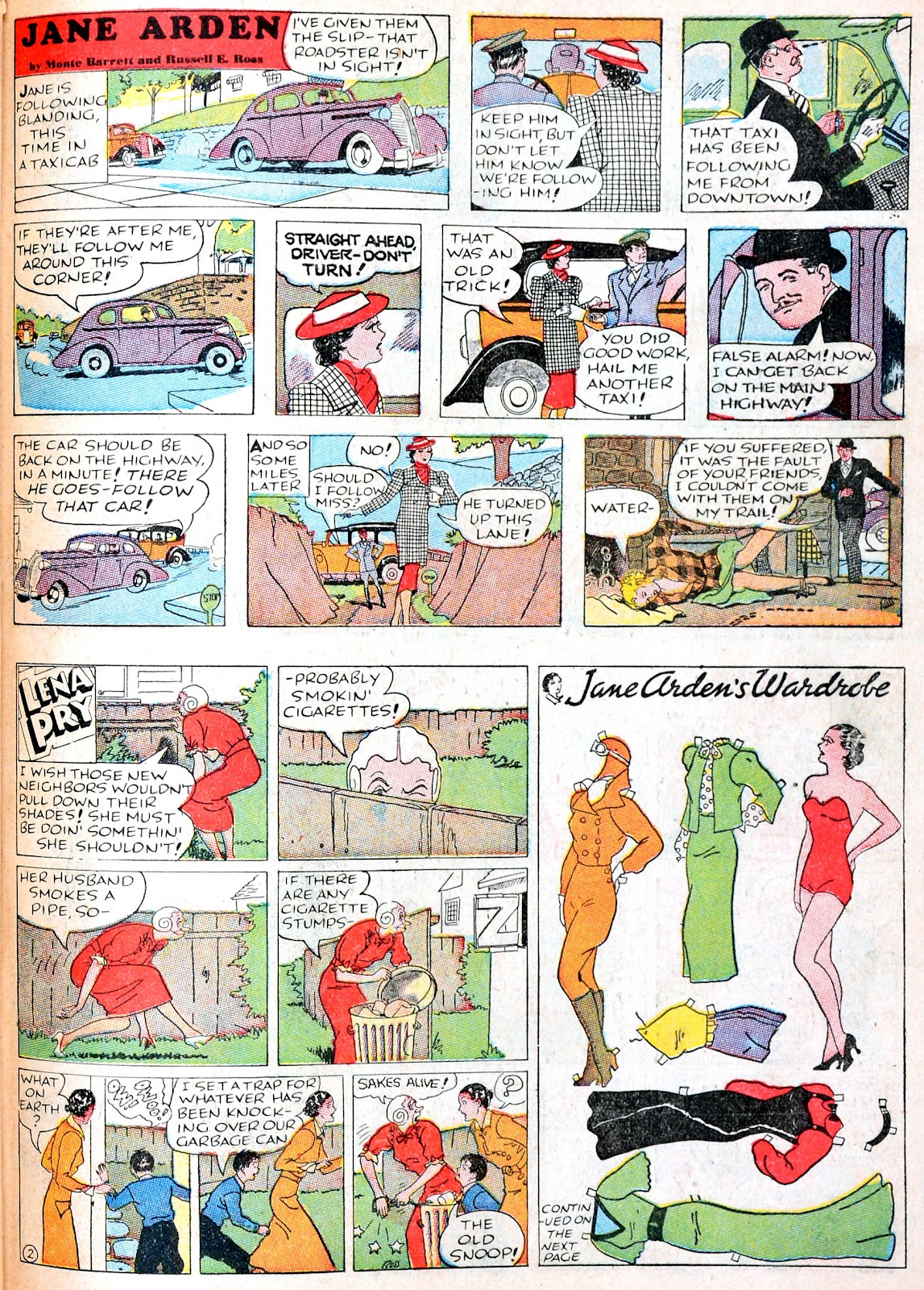Read online Famous Funnies comic -  Issue #38 - 49