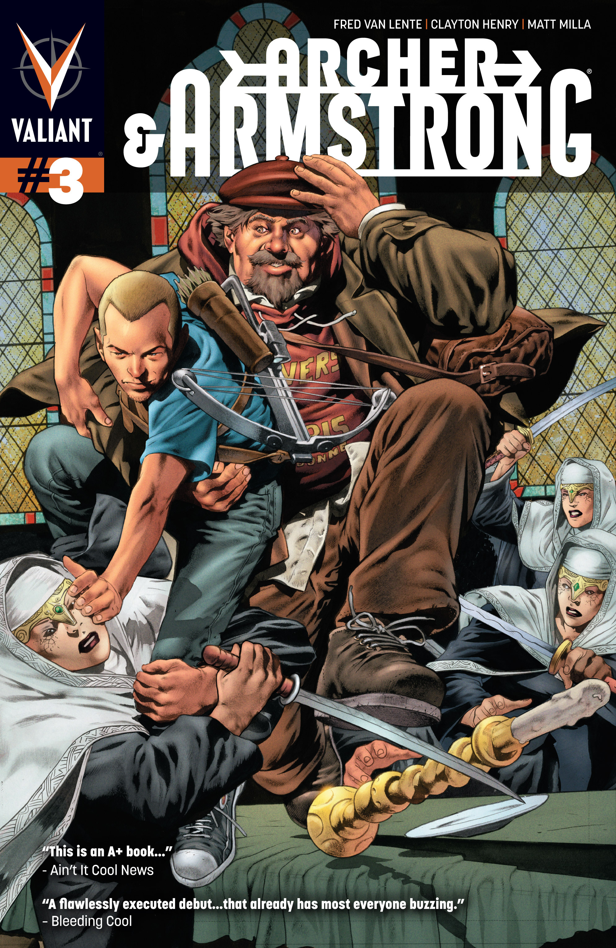 Read online Archer and Armstrong comic -  Issue #3 - 1