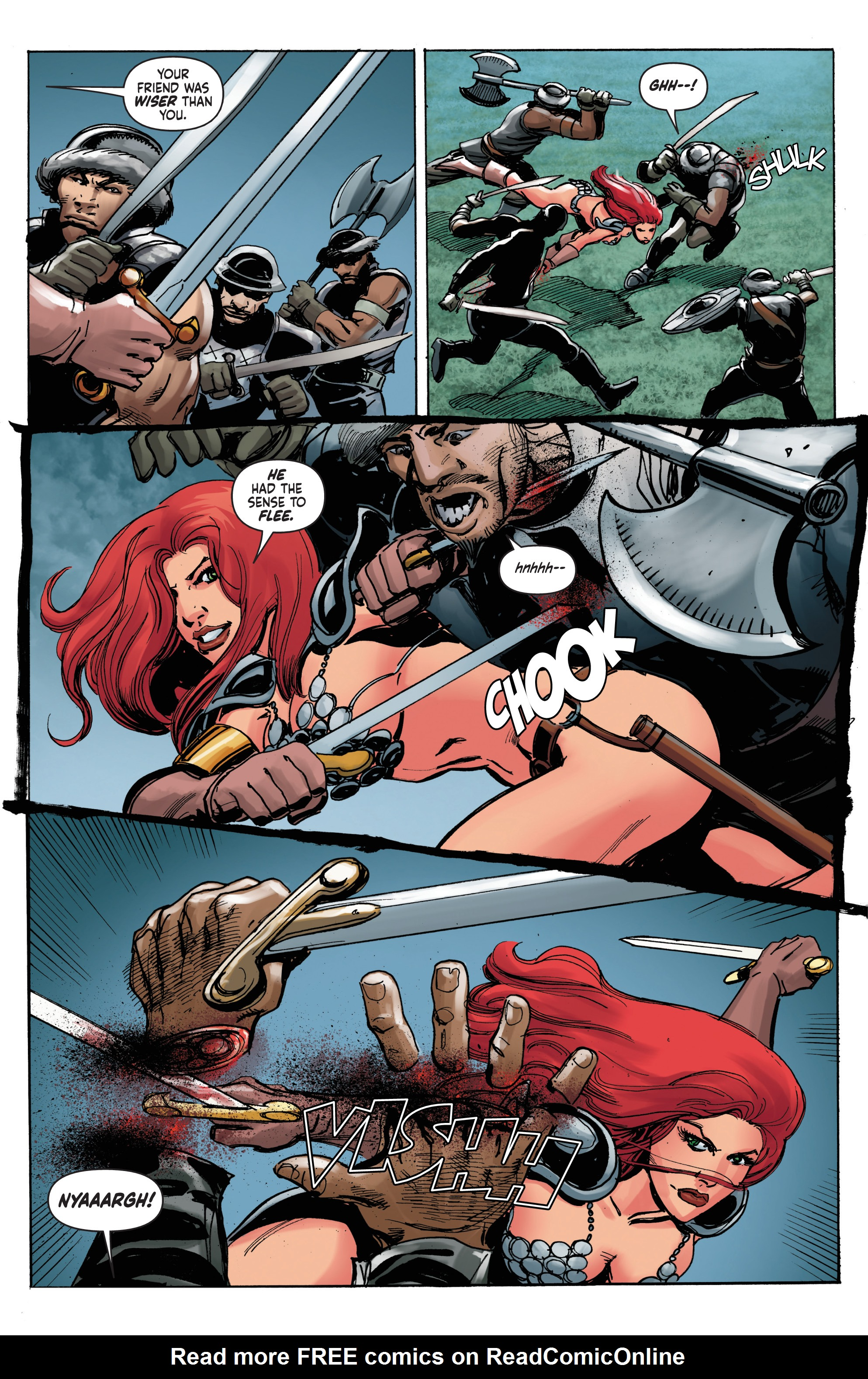 Read online Red Sonja: The Long Walk To Oblivion comic -  Issue # Full - 16