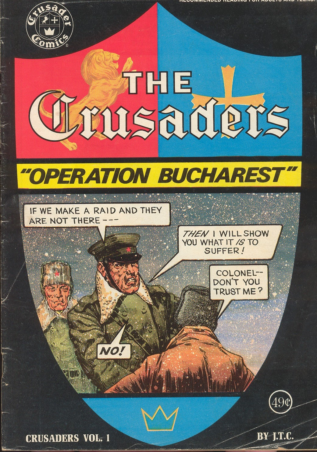 The Crusaders (1974) 1 Page 1