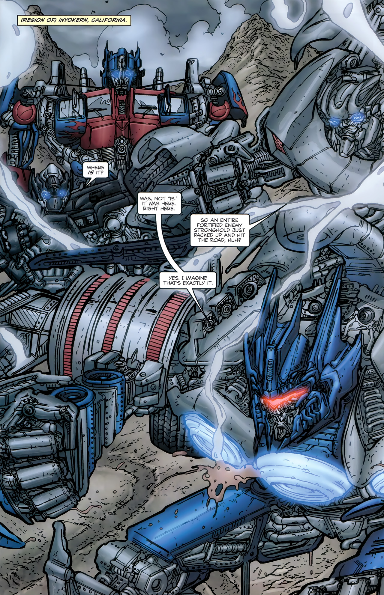Read online Transformers: Nefarious comic -  Issue #5 - 4