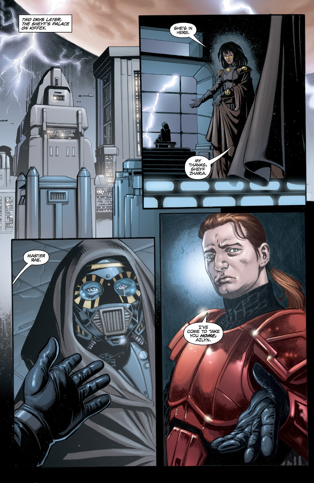 Read online Star Wars Legends: Legacy - Epic Collection comic -  Issue # TPB 2 (Part 4) - 84
