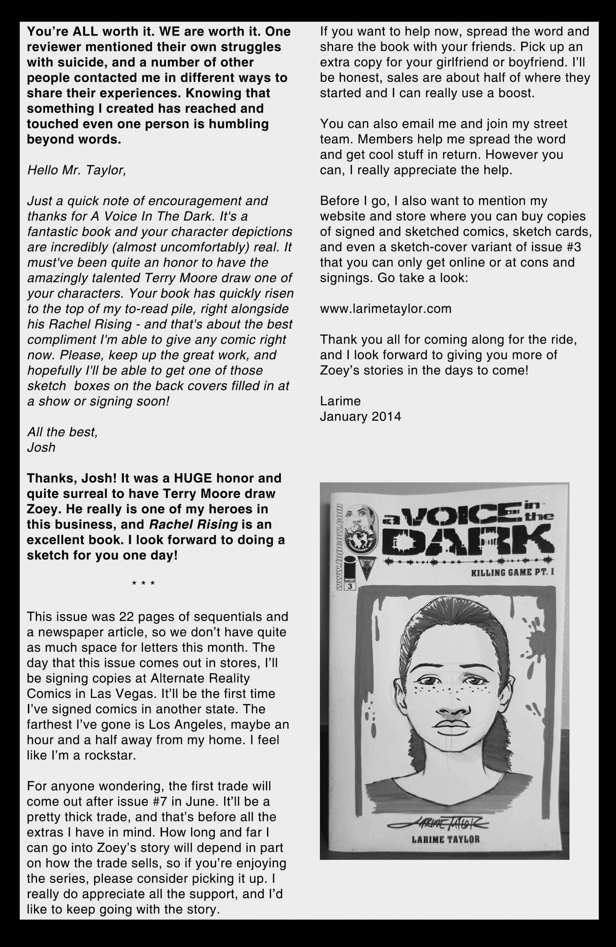 Read online A Voice in the Dark comic -  Issue #4 - 29