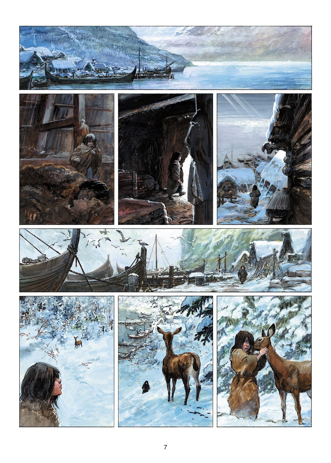 Read online Thorgal comic -  Issue #22 - 9