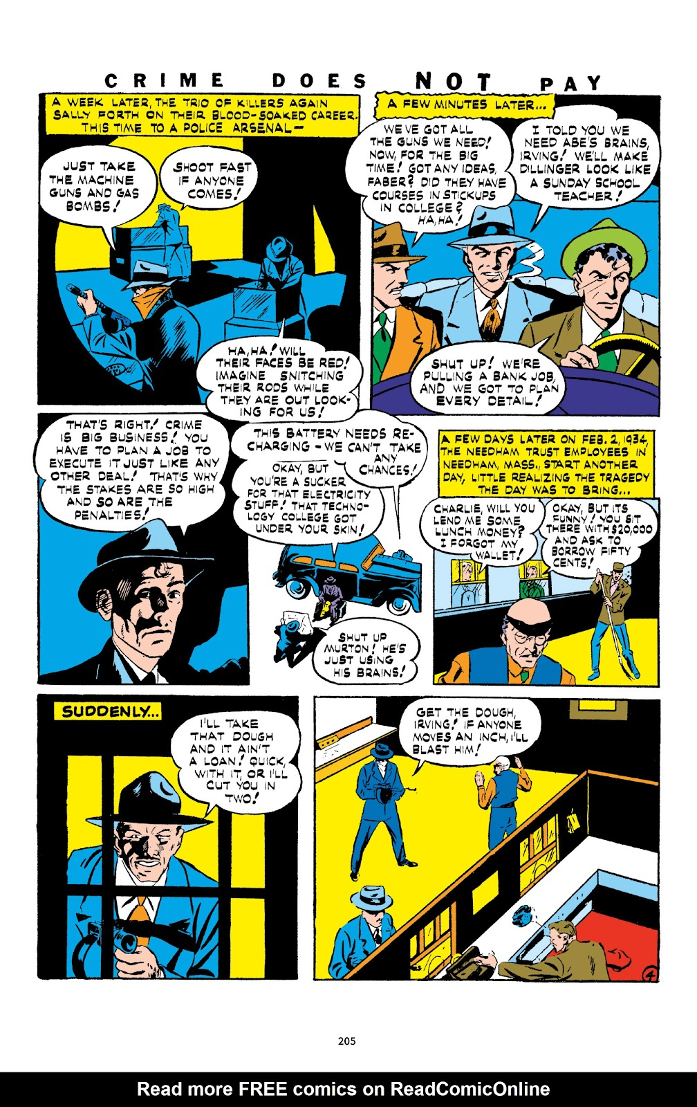 Read online Crime Does Not Pay Archives comic -  Issue # TPB 1 (Part 3) - 8