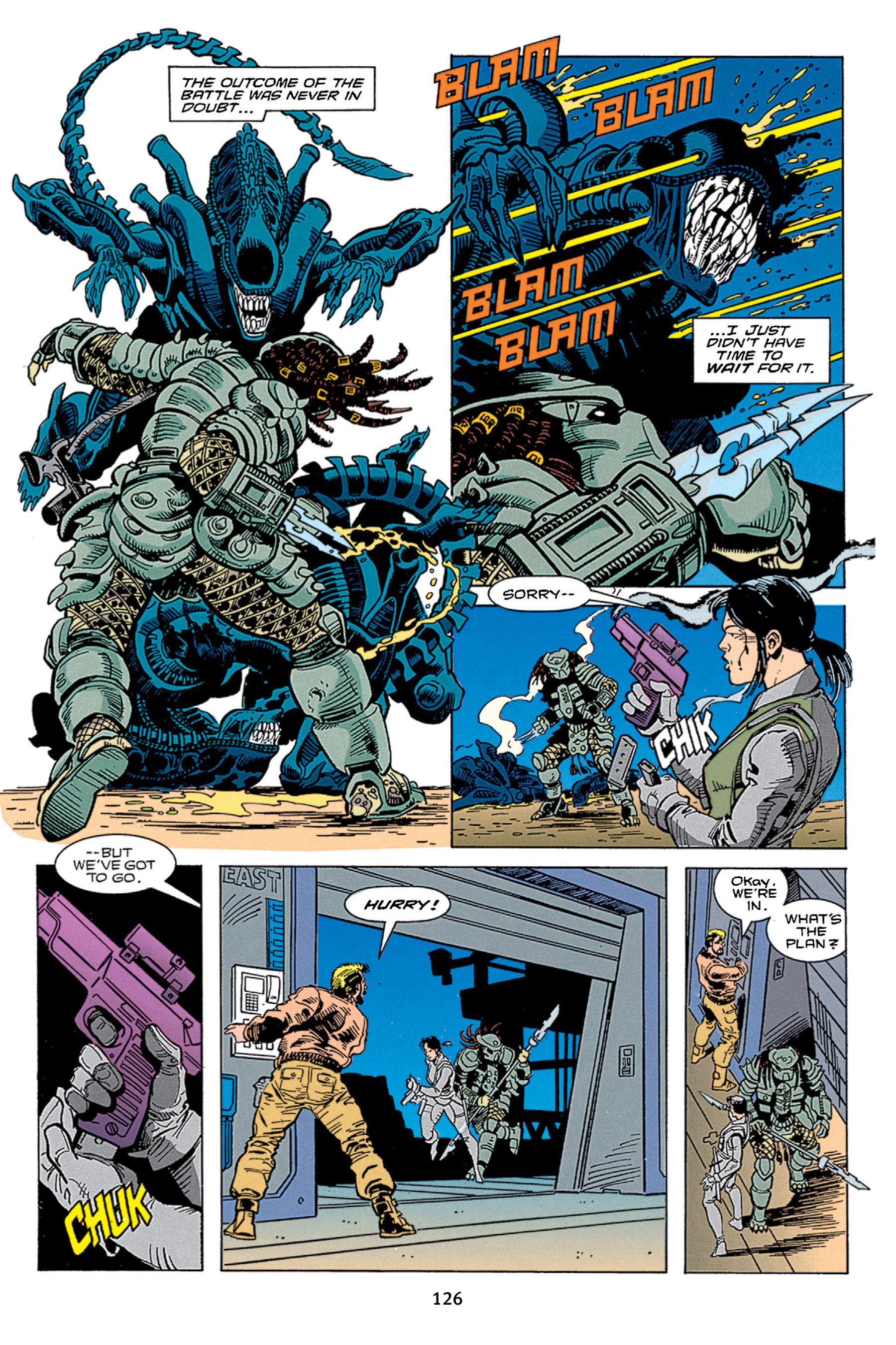 Read online Aliens vs. Predator Omnibus comic -  Issue # _TPB 1 Part 2 - 25