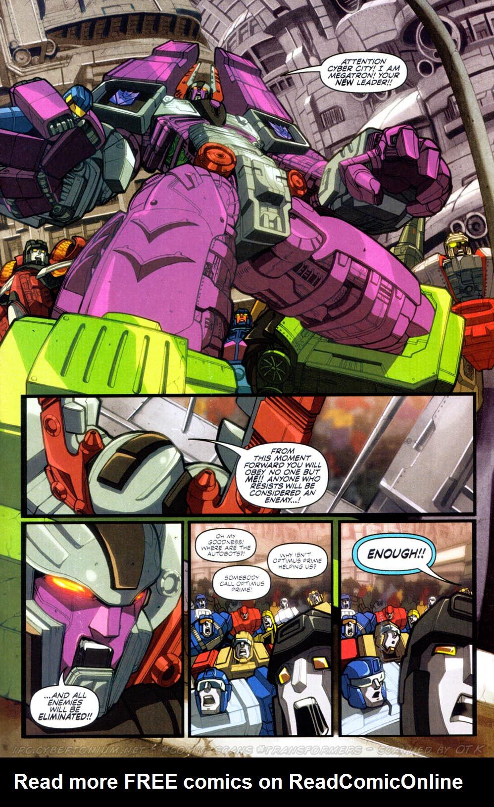 Read online Transformers Armada comic -  Issue #2 - 13