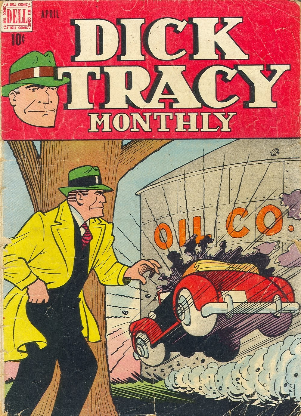 Dick Tracy Monthly 4 Page 1
