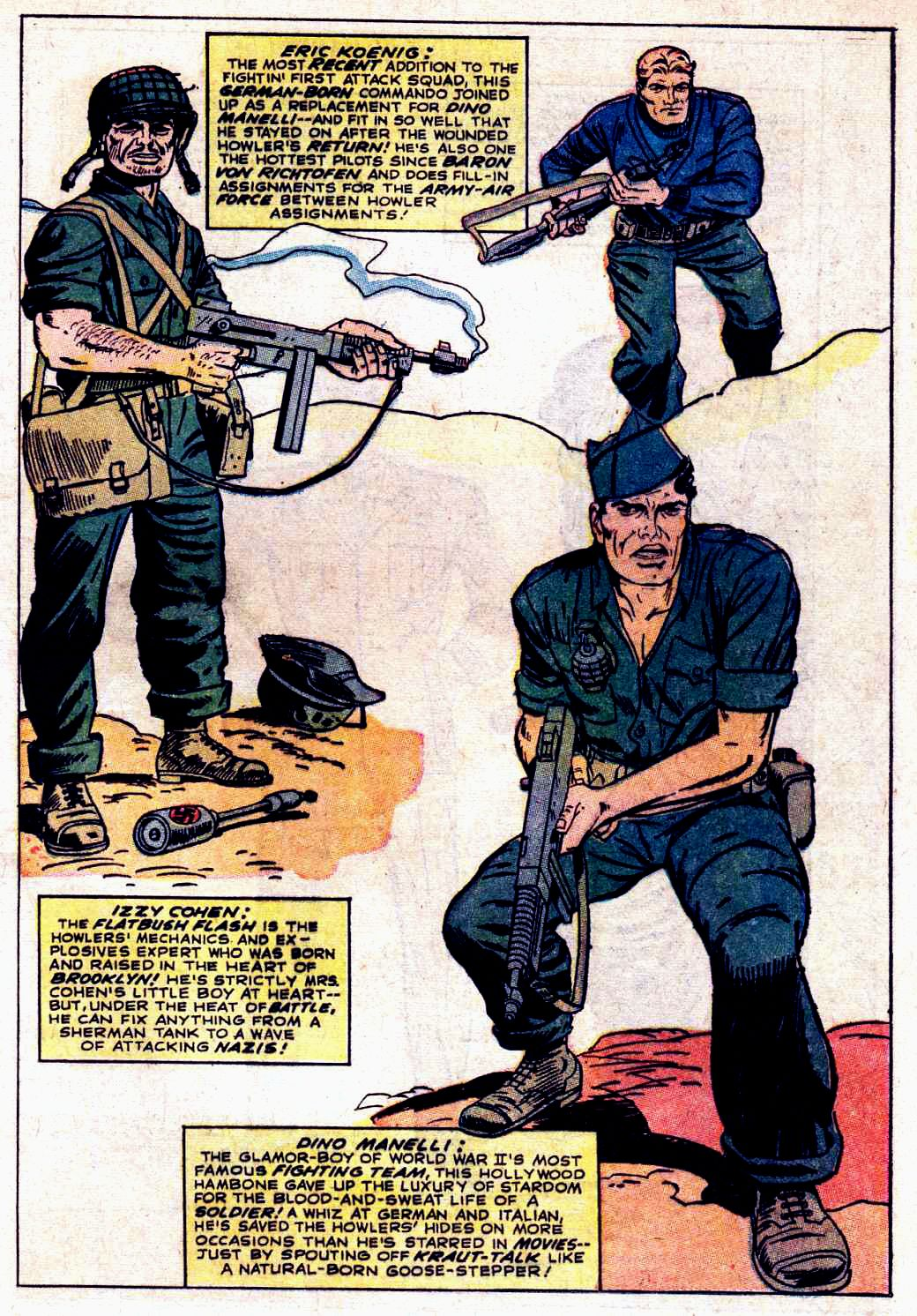 Read online Sgt. Fury comic -  Issue # _Special 3 - 57