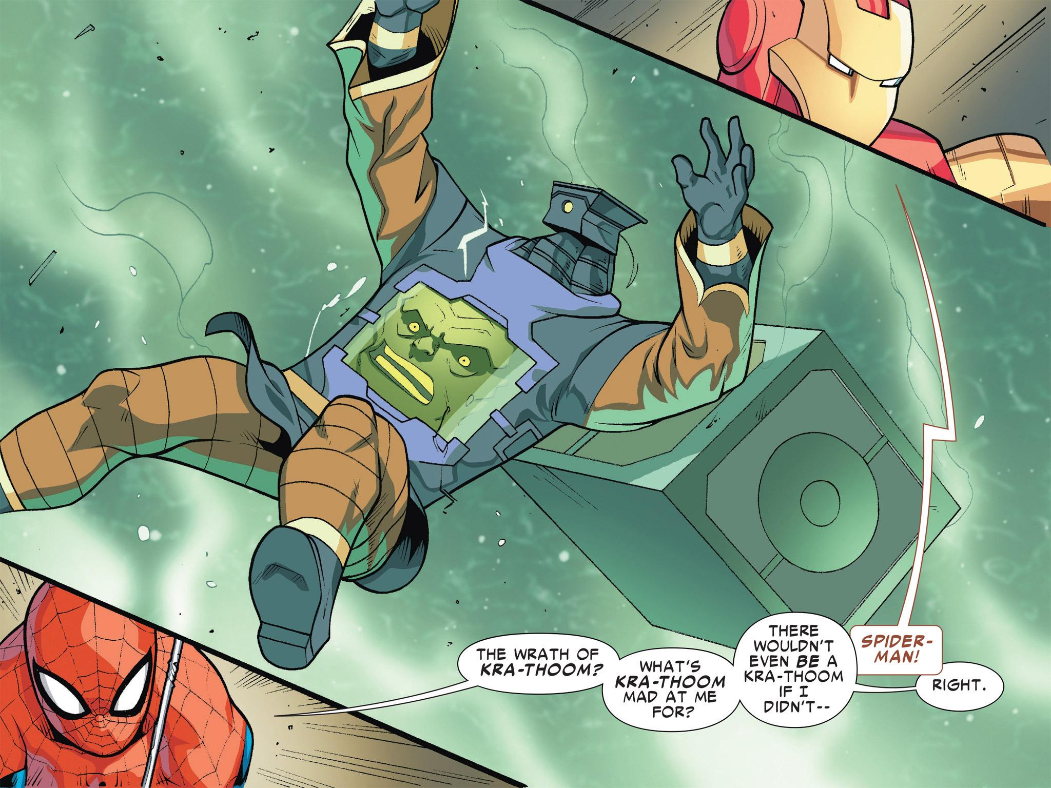 Read online Ultimate Spider-Man (Infinite Comics) (2016) comic -  Issue #5 - 41