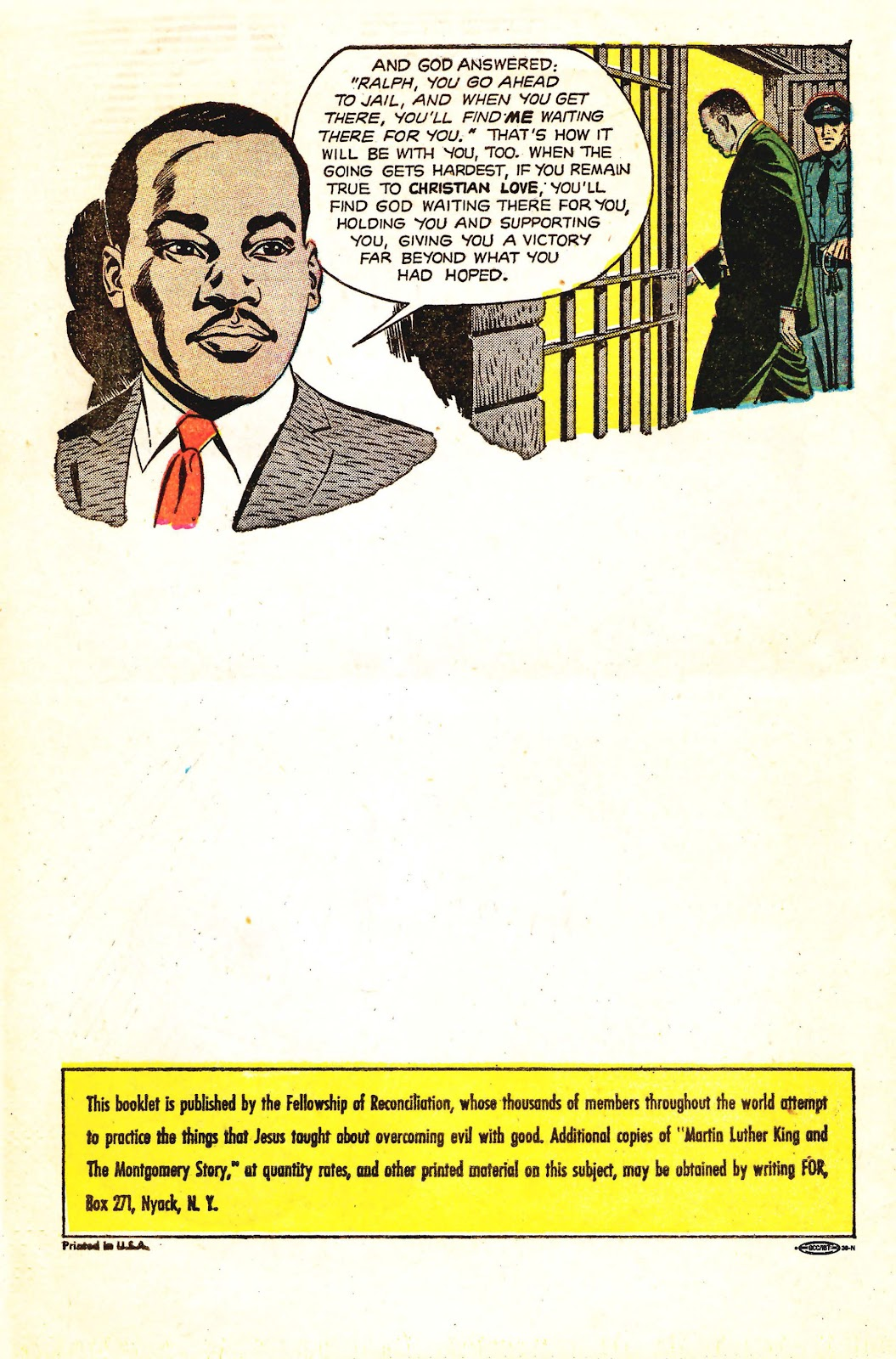 Read online Martin Luther King and the Montgomery Story comic -  Issue # Full - 16