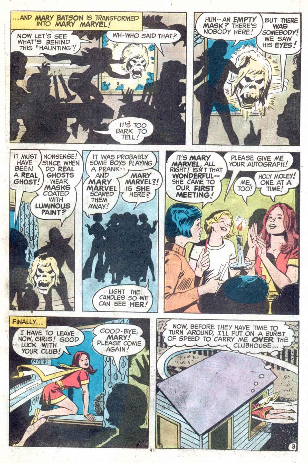 Read online Shazam! (1973) comic -  Issue #13 - 92