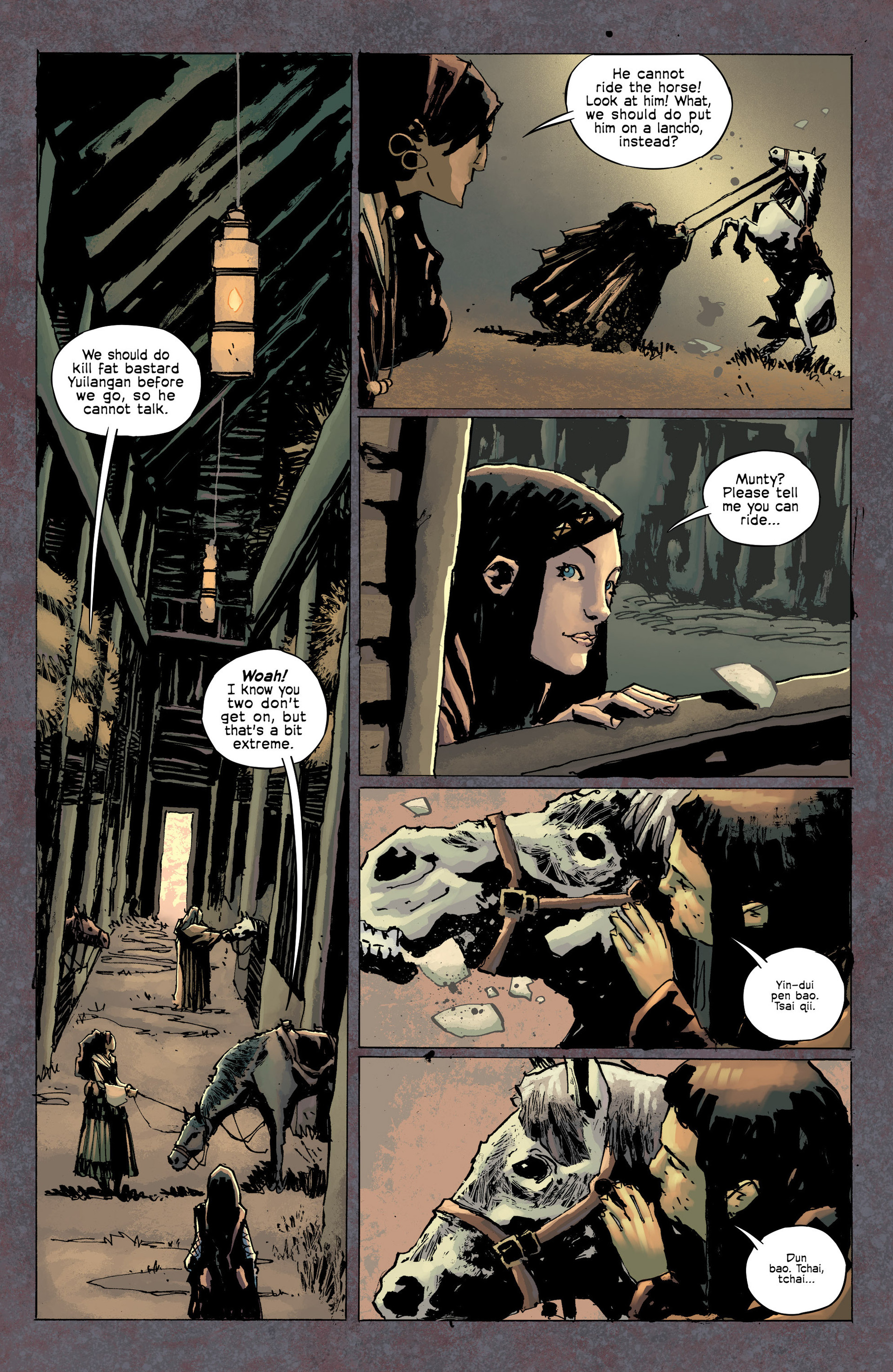 Read online Umbral comic -  Issue #8 - 6