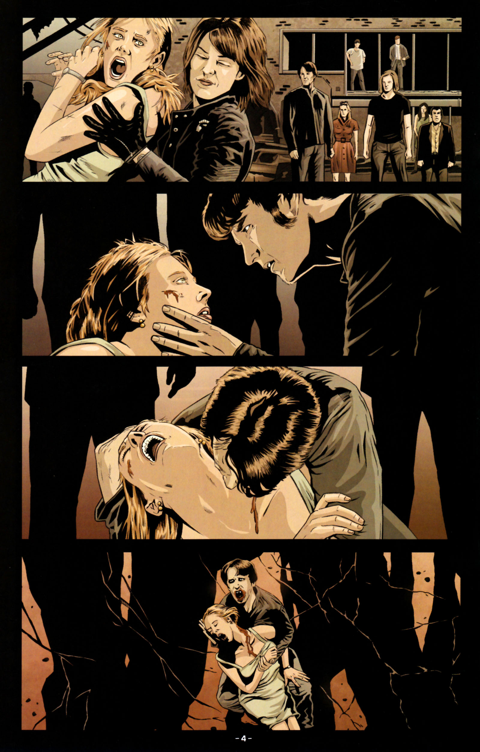Read online True Blood: Tainted Love comic -  Issue #5 - 7