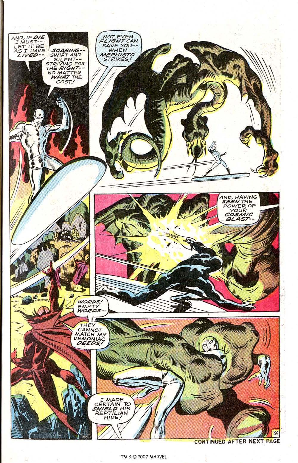 Silver Surfer (1968) issue 3 - Page 41