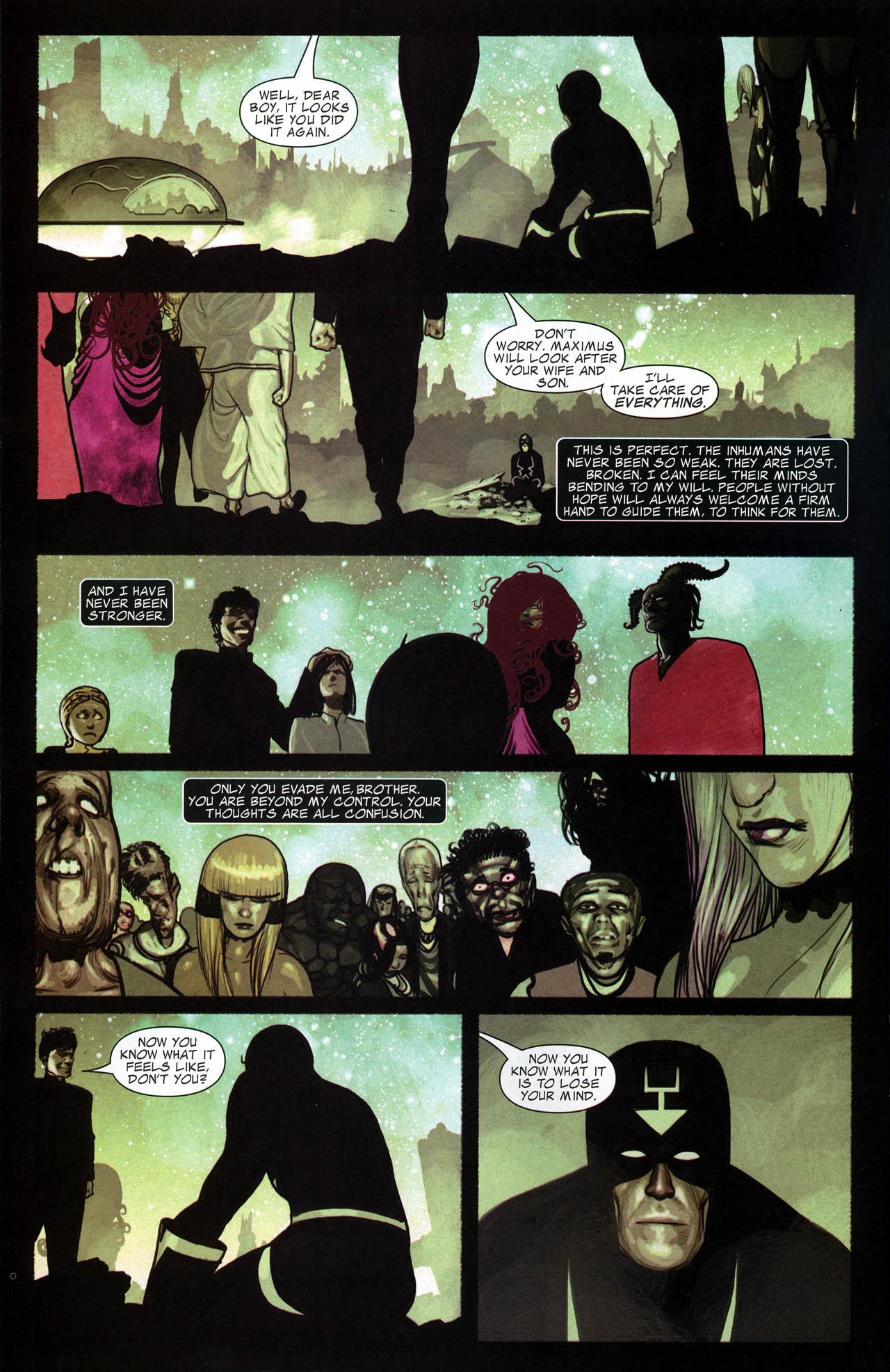 Read online Silent War comic -  Issue #6 - 20
