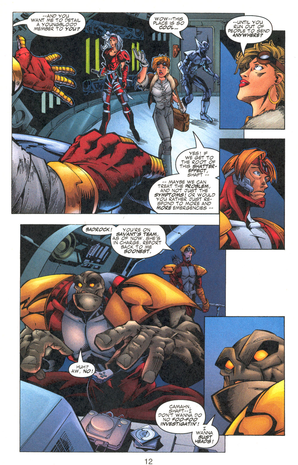 Read online Shattered Image comic -  Issue #2 - 12