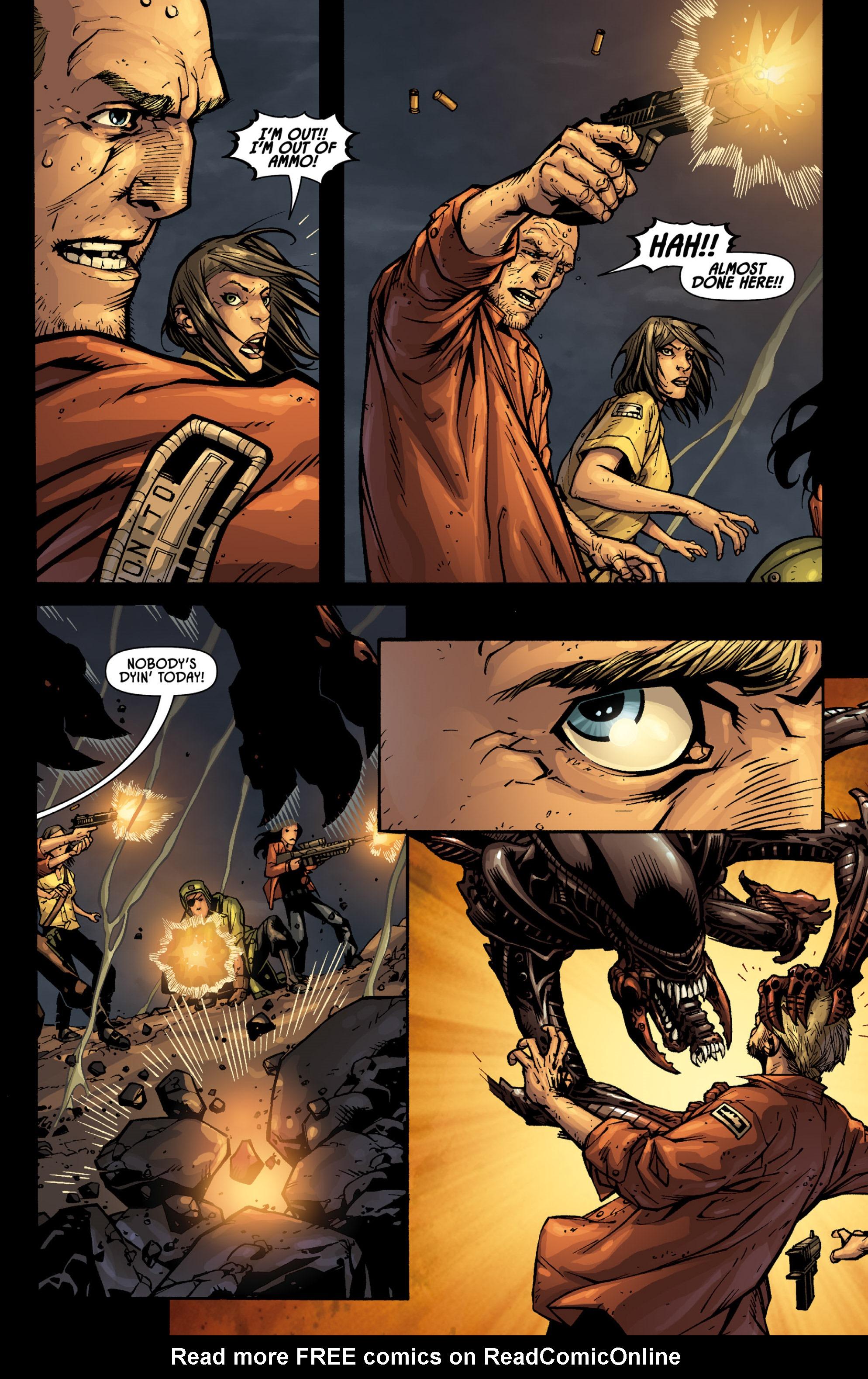 Read online Aliens (2009) comic -  Issue # TPB - 91