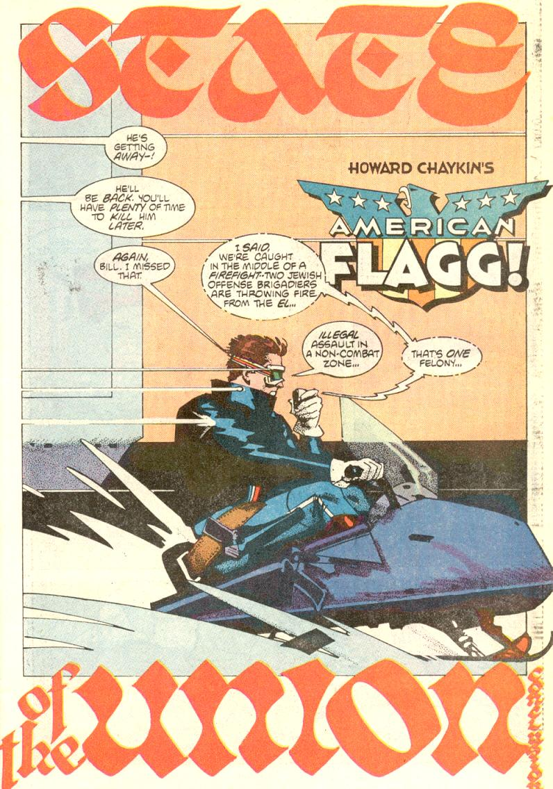 Read online American Flagg! comic -  Issue #9 - 6