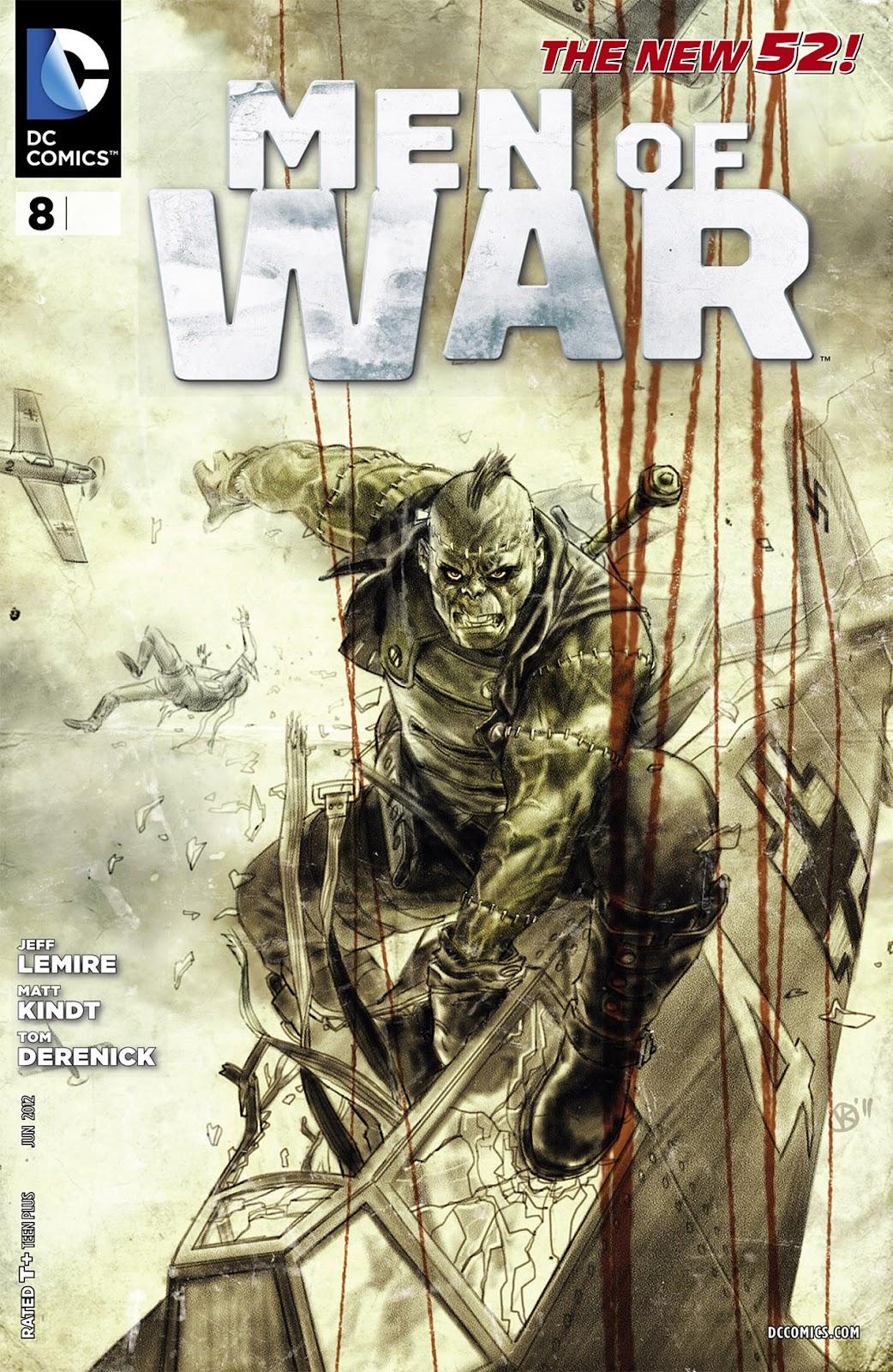 Men of War (2011) 8 Page 1