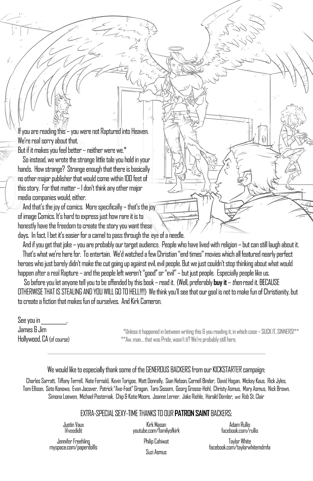 Read online The End Times of Bram and Ben comic -  Issue #1 - 34