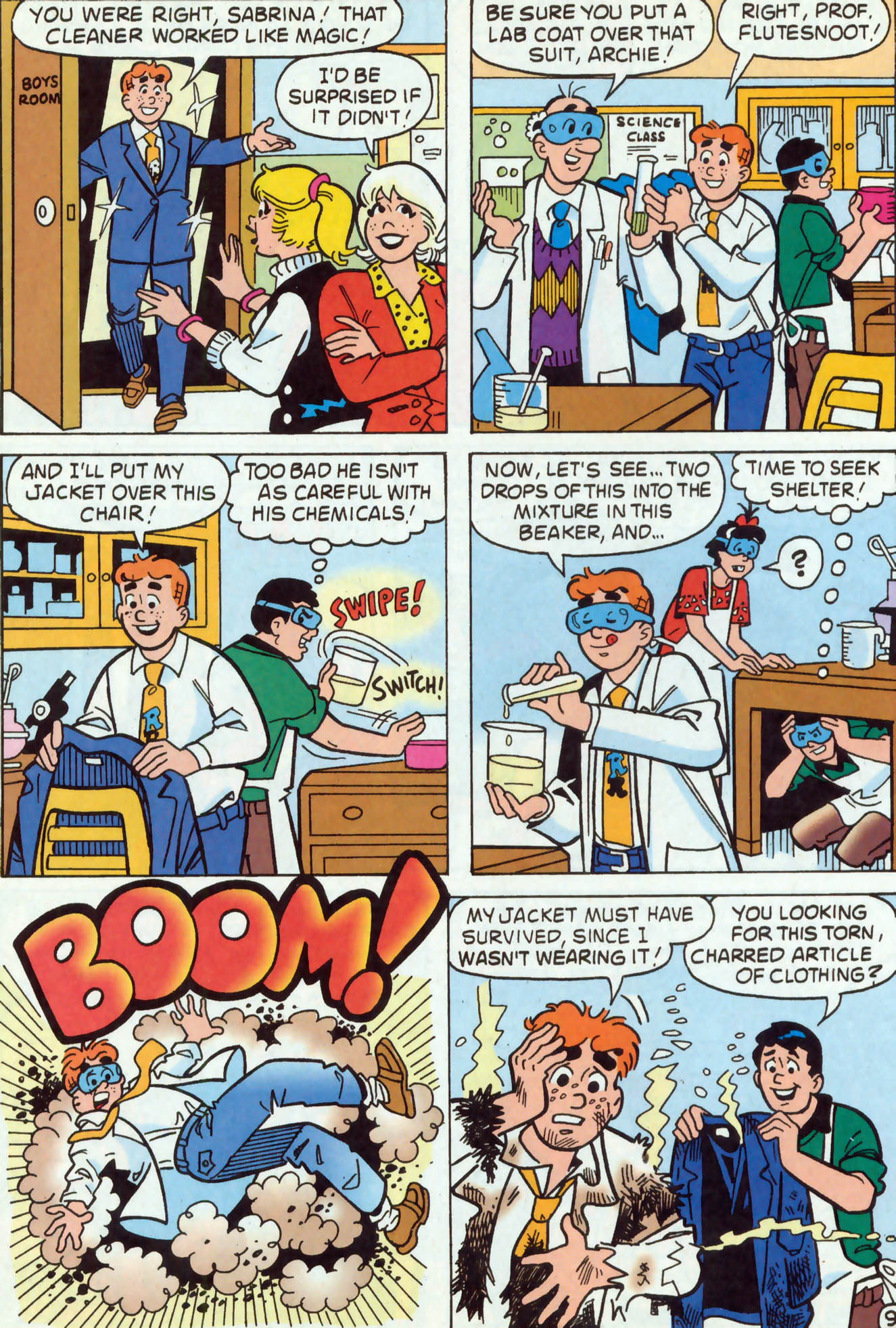 Read online Archie (1960) comic -  Issue #467 - 10