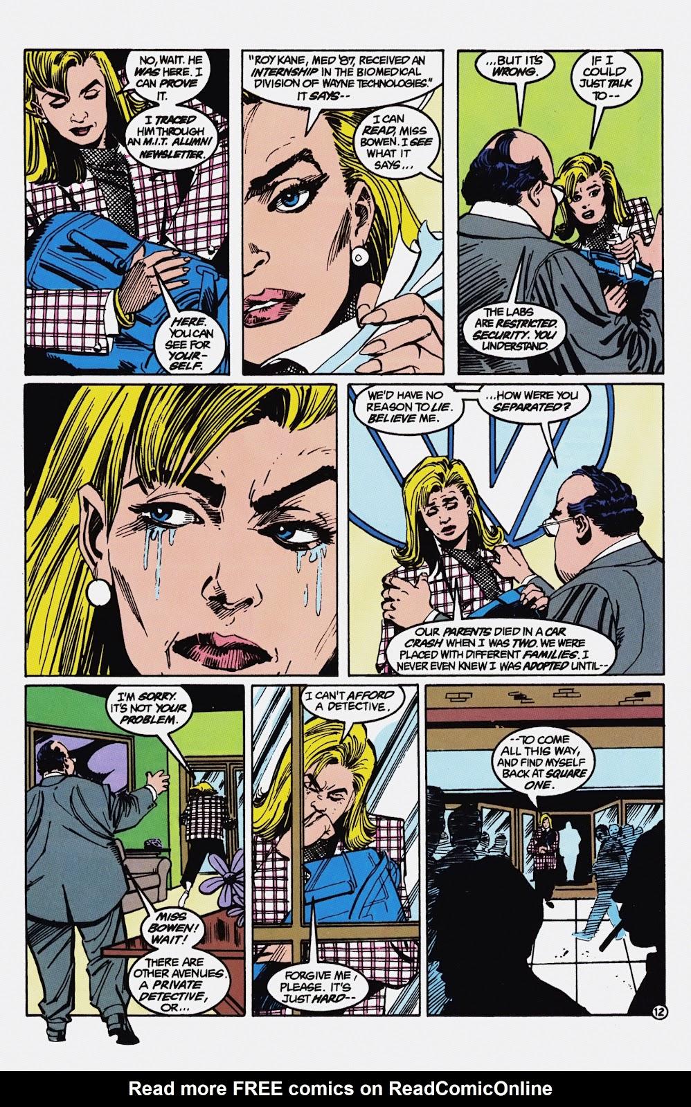 Read online Detective Comics (1937) comic -  Issue # _TPB Batman - Blind Justice (Part 1) - 17