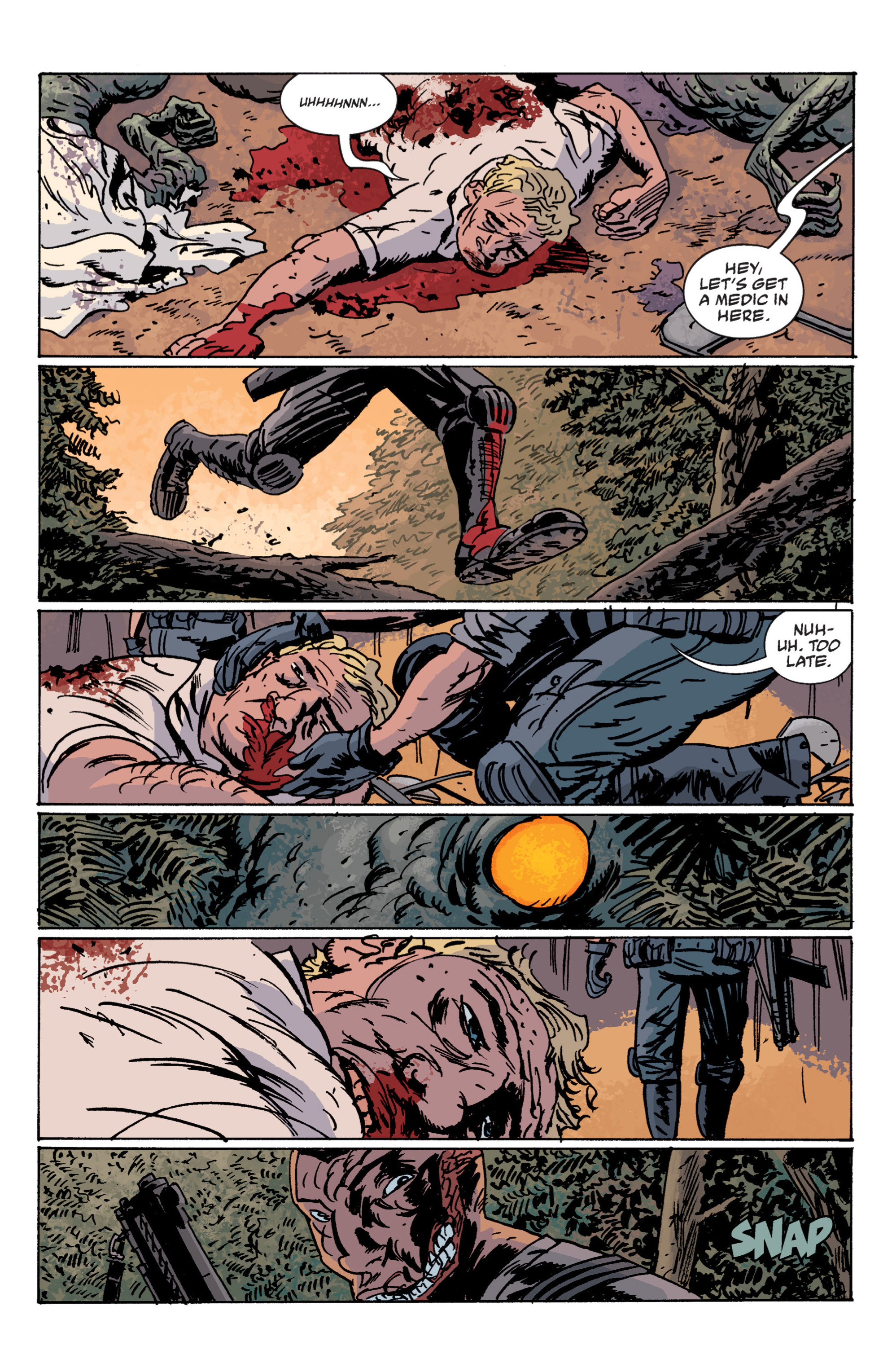 Read online B.P.R.D. (2003) comic -  Issue # TPB 12 - 56