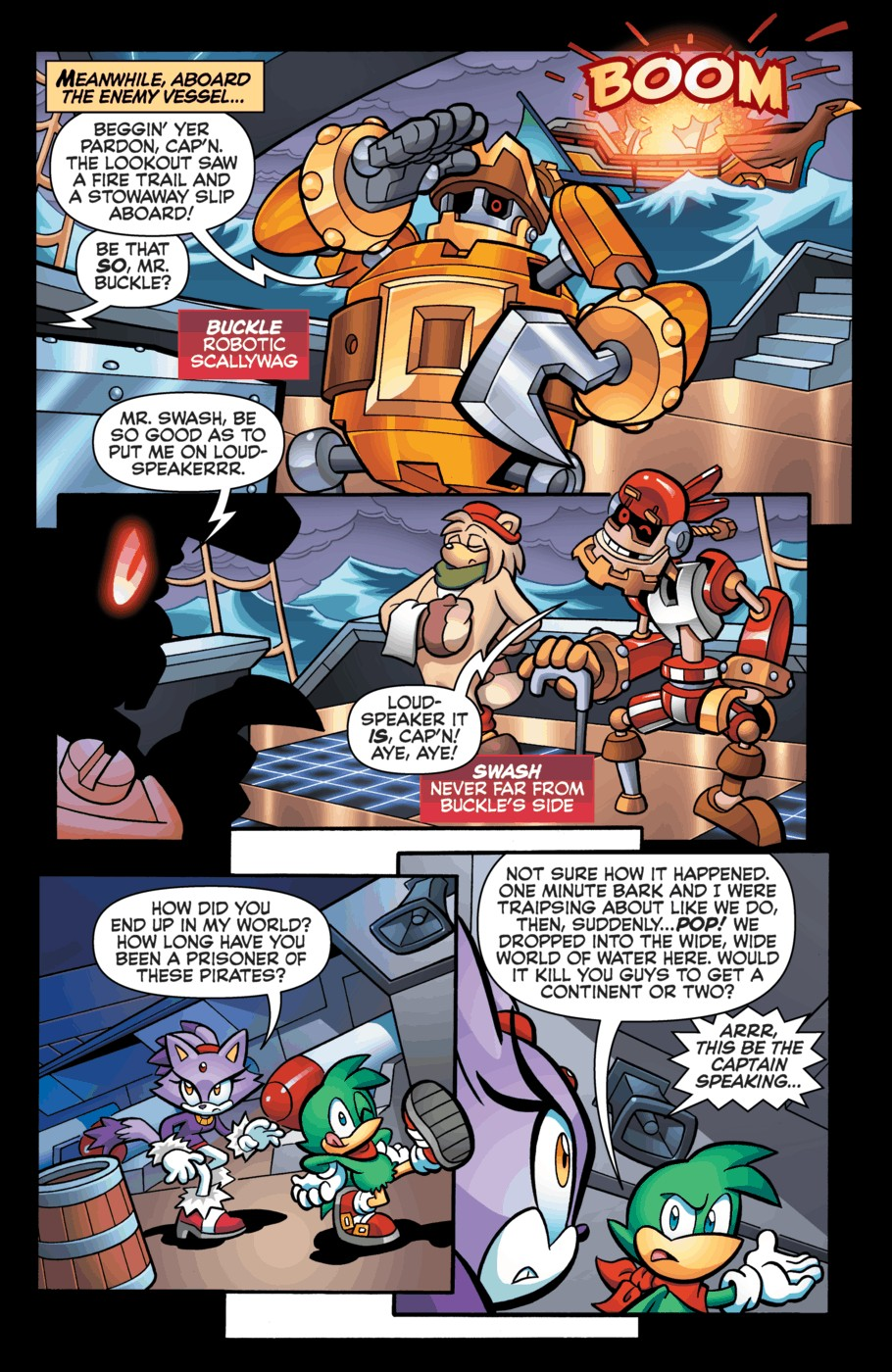 Read online Sonic Universe comic -  Issue #55 - 12