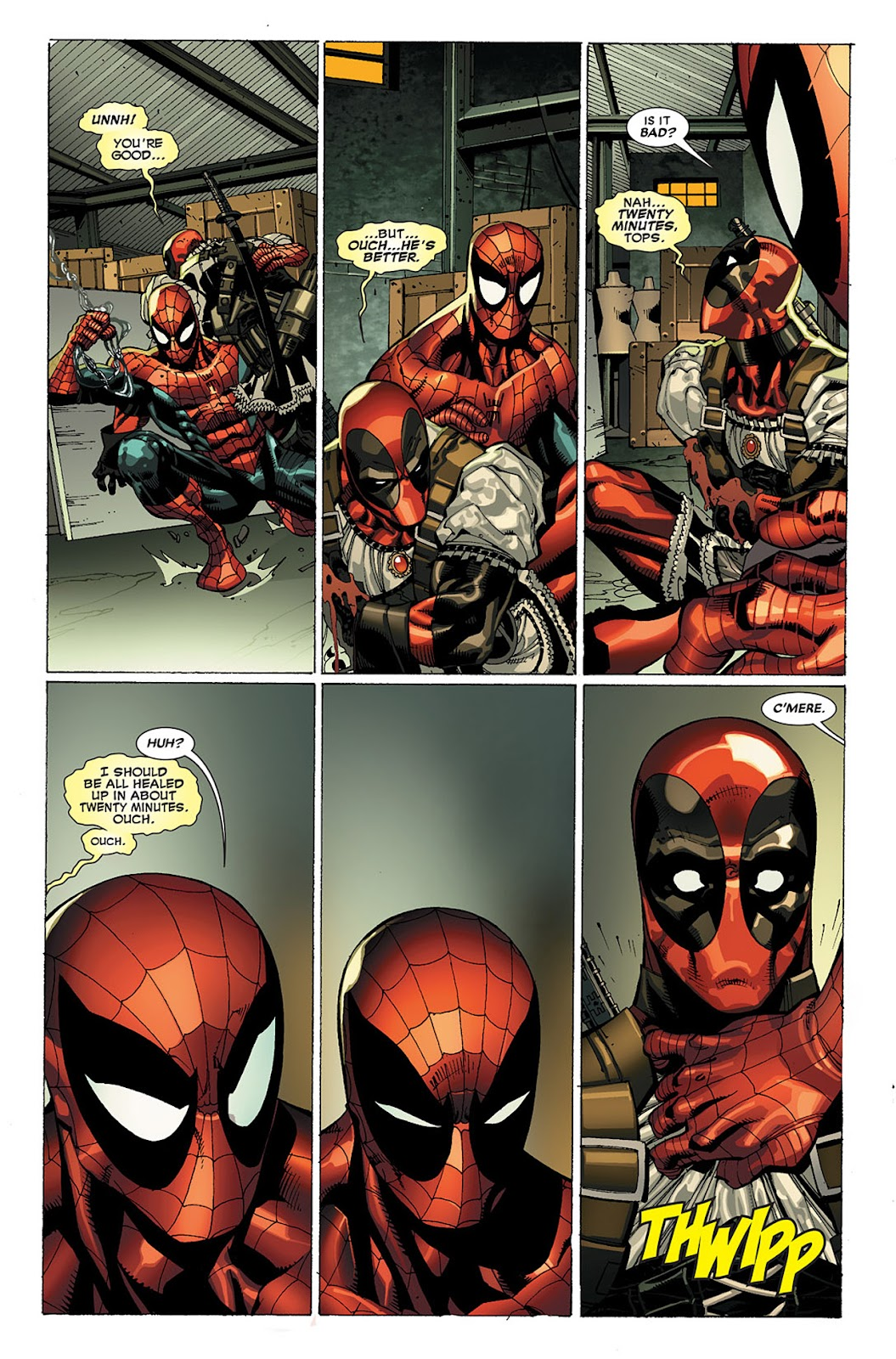 Read online Deadpool (2008) comic -  Issue #20 - 14