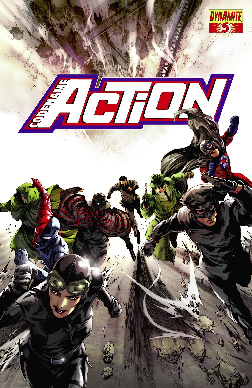 Read online Codename: Action comic -  Issue #5 - 2