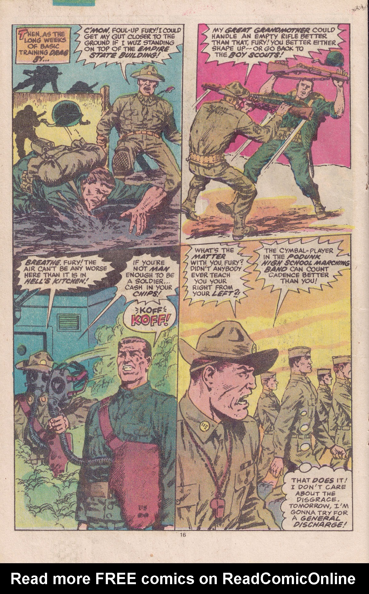 Read online Sgt. Fury comic -  Issue #158 - 18