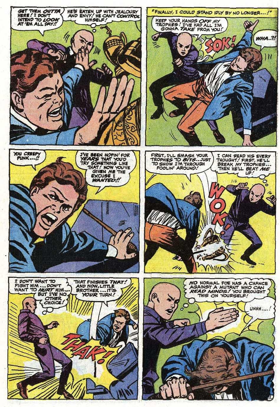 Read online Uncanny X-Men (1963) comic -  Issue #67 - 14