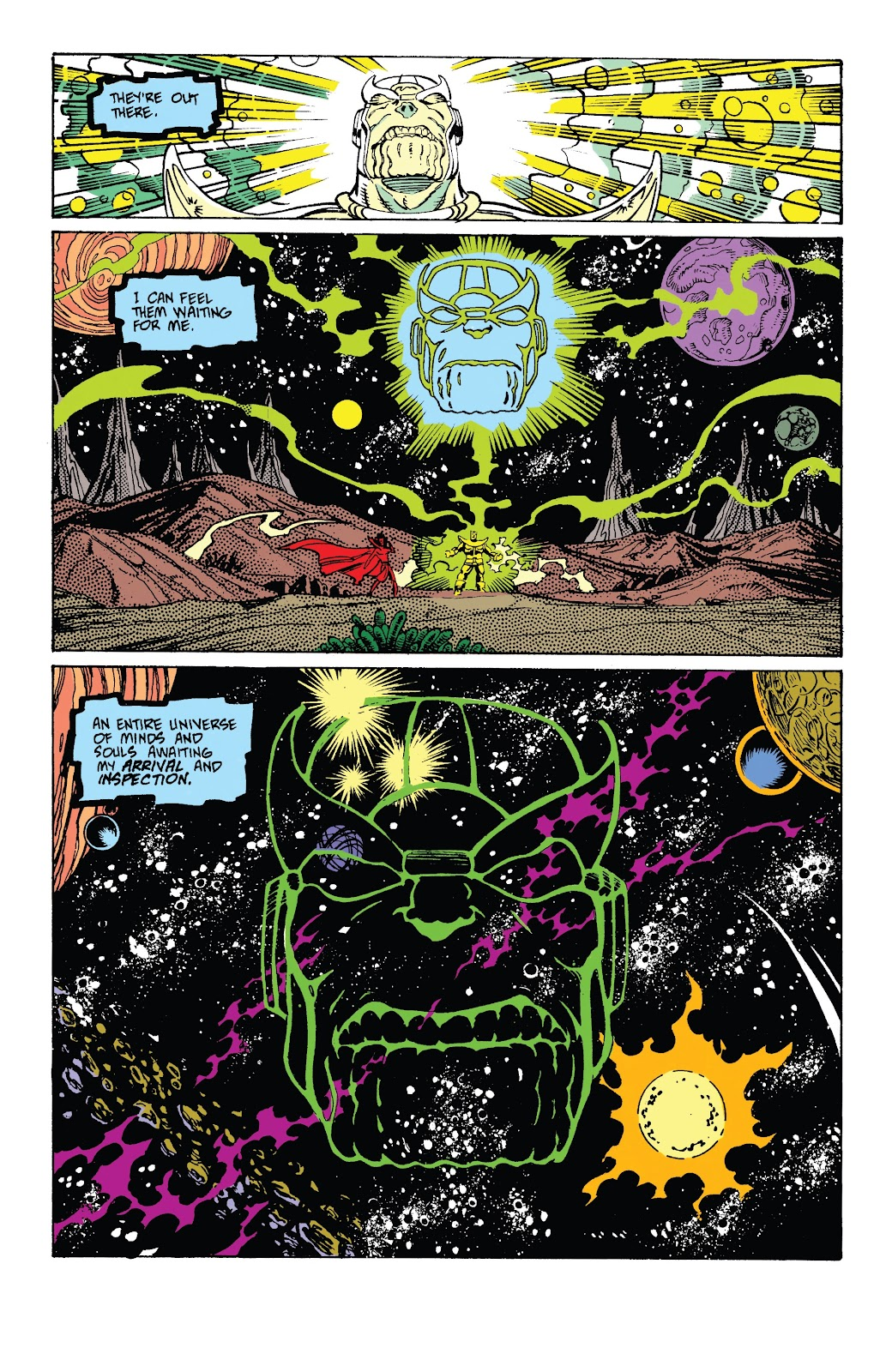 Read online Marvel Tales: Thanos comic -  Issue # Full - 41