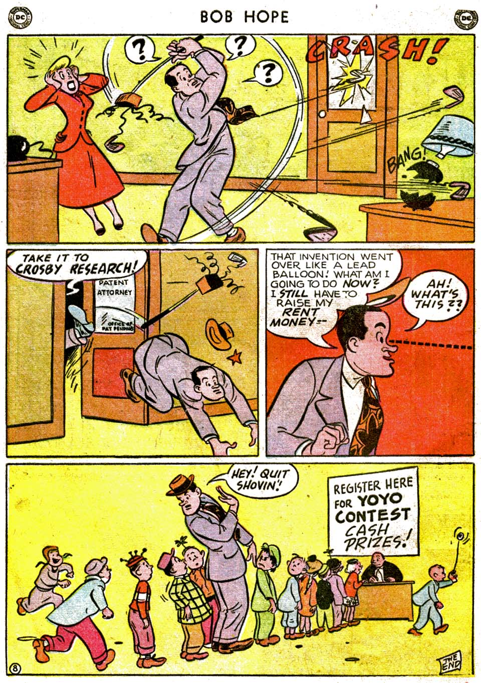 The Adventures of Bob Hope issue 1 - Page 10