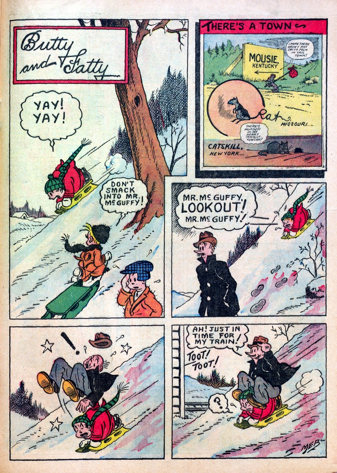 Read online Famous Funnies comic -  Issue #30 - 49