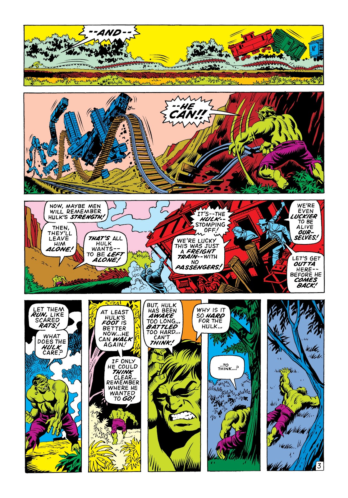 Read online Marvel Masterworks: The Incredible Hulk comic -  Issue # TPB 6 (Part 1) - 12