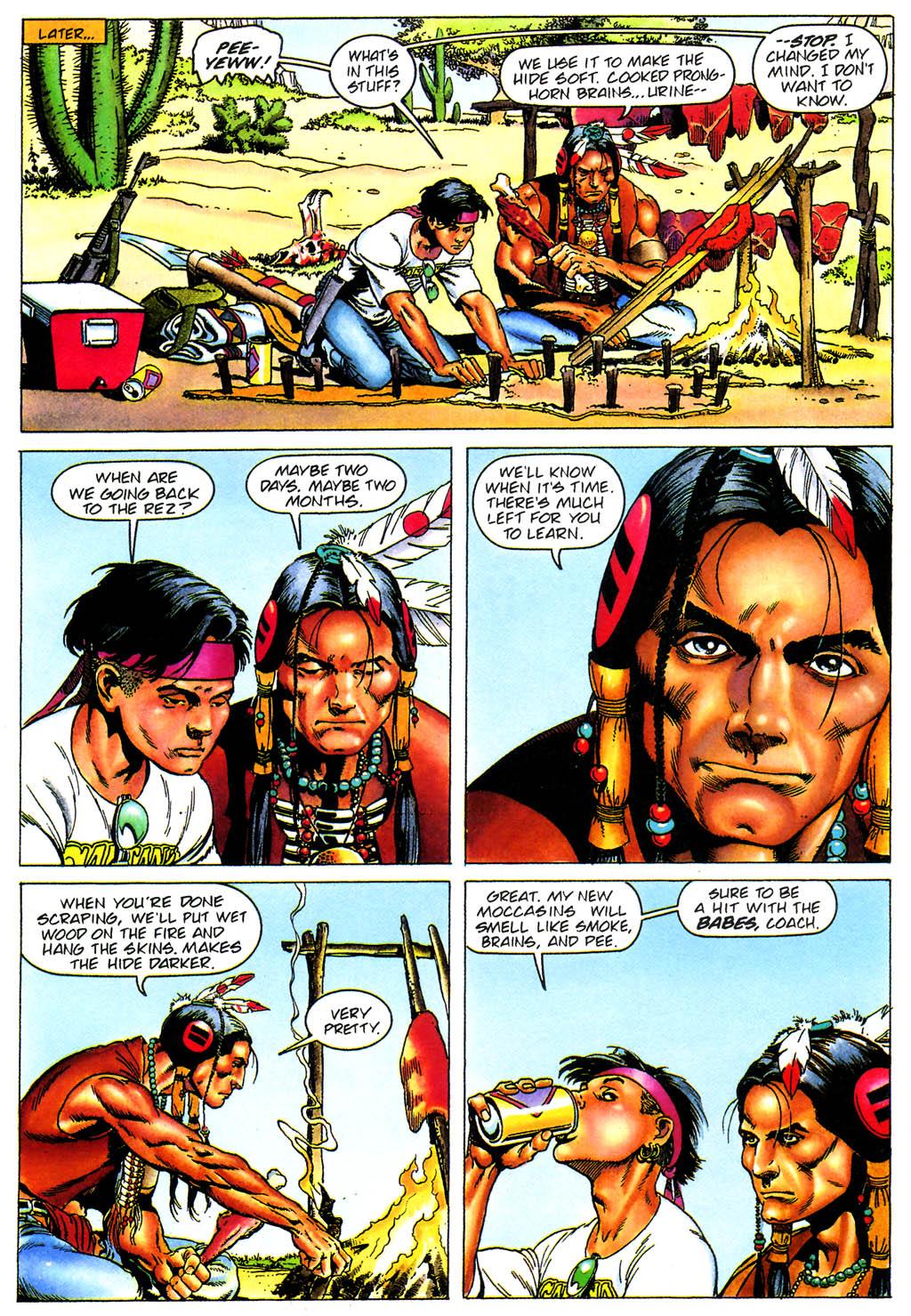 Read online Turok, Dinosaur Hunter (1993) comic -  Issue #0 - 8