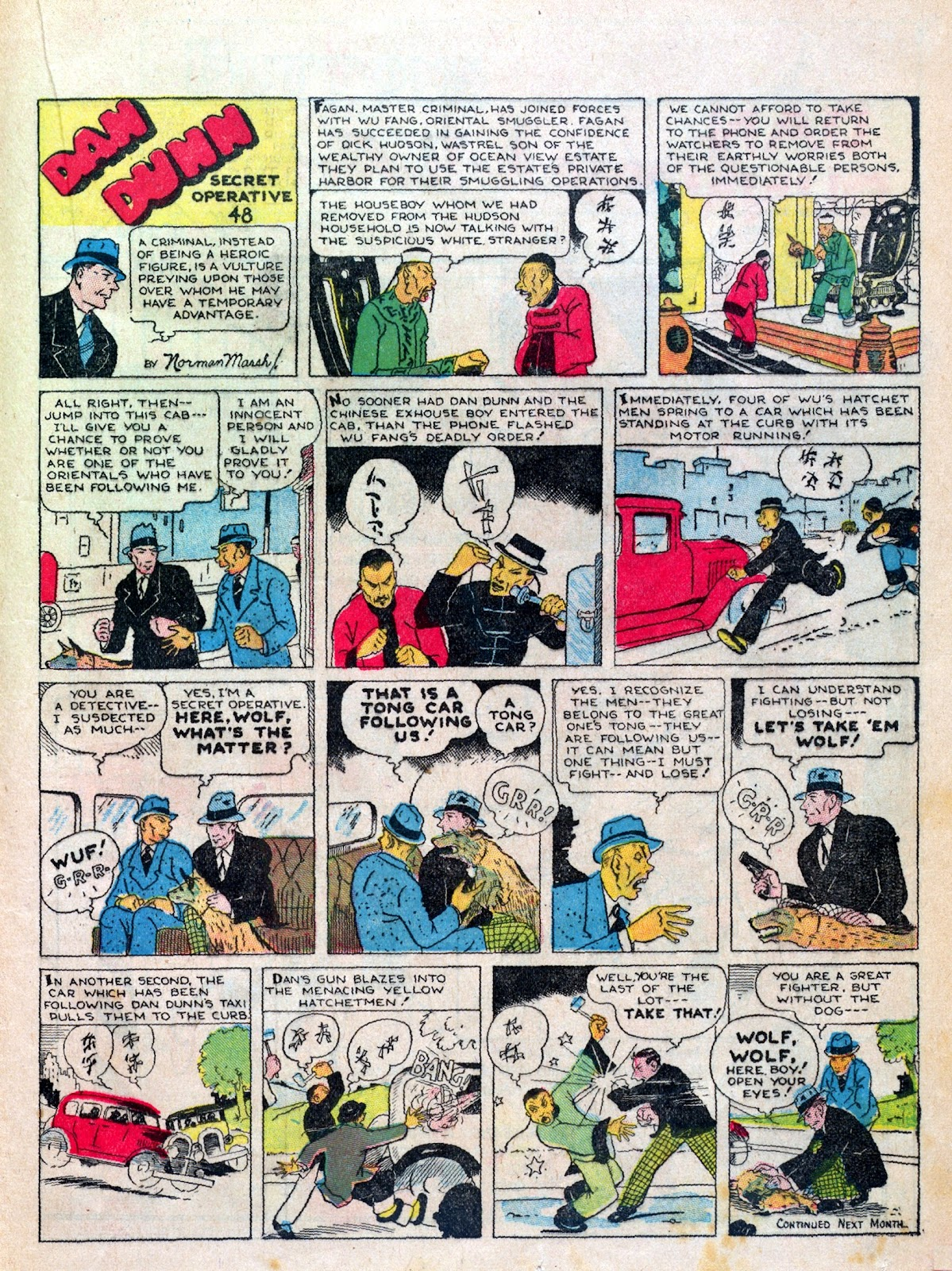 Read online Famous Funnies comic -  Issue #6 - 39