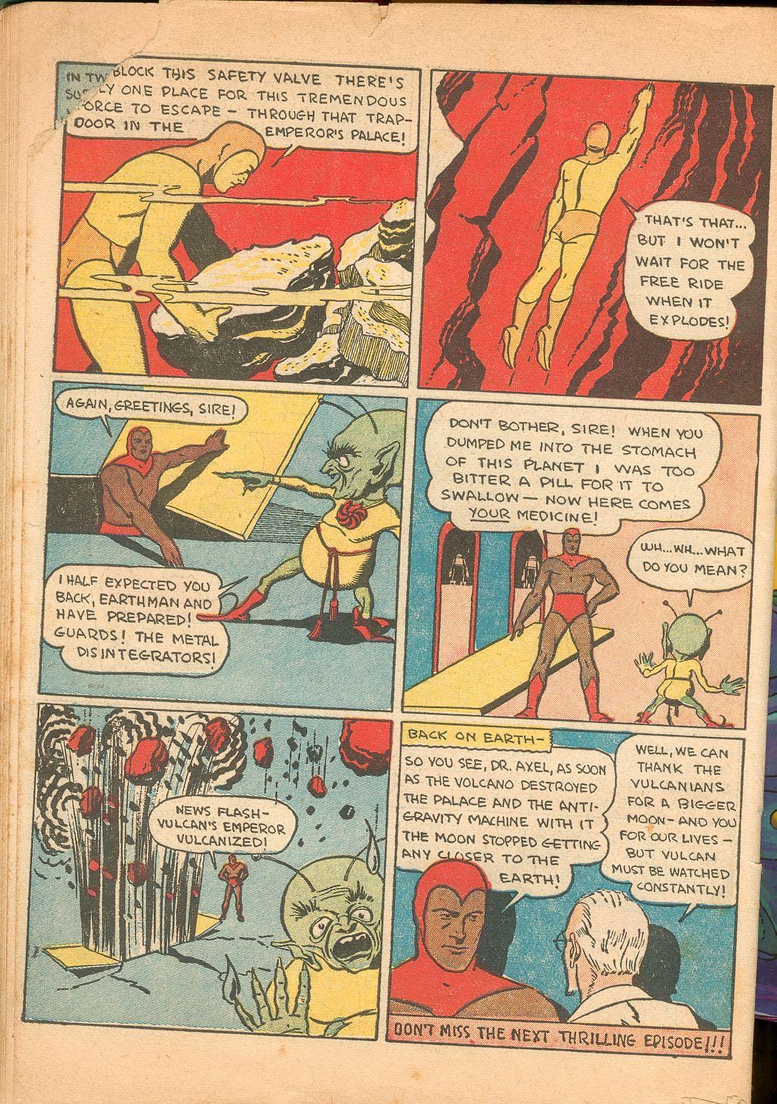 Read online Shadow Comics comic -  Issue #11 - 64