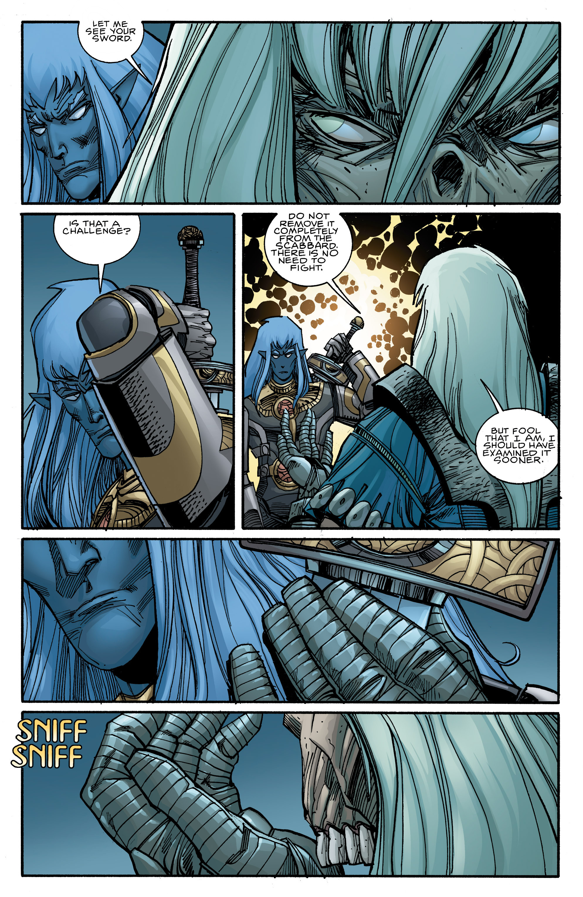 Read online Ragnarok comic -  Issue #10 - 10