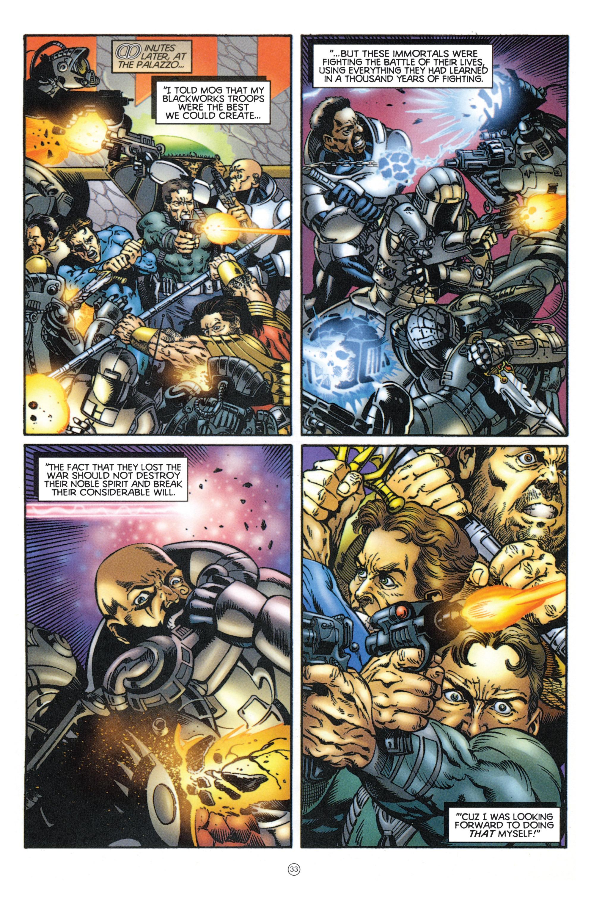 Read online Eternal Warriors comic -  Issue # Issue Mog - 29